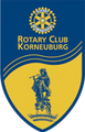 Wimpel/Flagge des gastgebenden Rotary-Clubs